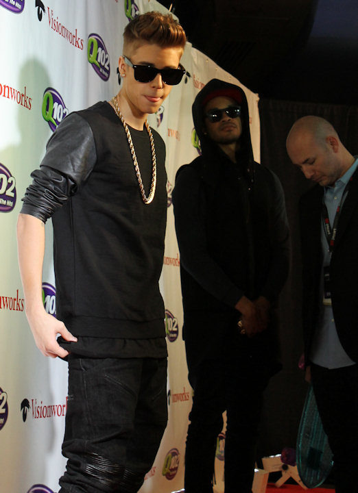 "<div class=""meta image-caption""><div class=""origin-logo origin-image ""><span></span></div><span class=""caption-text"">Justin Bieber attends Q102's Jingle Ball 2012 presented by XFINITY, at Wells Fargo Center on December 5, 2012 in Philadelphia. (6abc/Brock Koller)</span></div>"