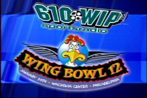 It's become as big a Philadelphia tradition as the Eagles not making the SuperBowl: Sports Radio station WIP's Wing Bowl.