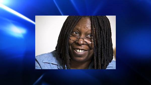 Whoopi Goldberg responds during an interview in her dressing room in New York Thursday July 31, 2008. Goldberg, 52, a co-host on the ABCs The View, is spending her six-week vacation from the TV show to star in the Tony-nominated roller-skating musical Xanadu on Broadway as one of the shows evil sisters, Caliope. (AP Photo/Richard Drew)  (AP)