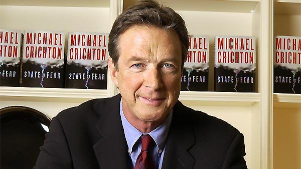 Author Michael Crichton