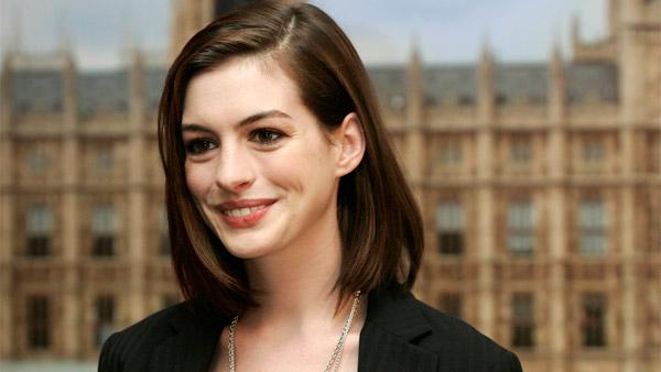 Anne Hathaway in London