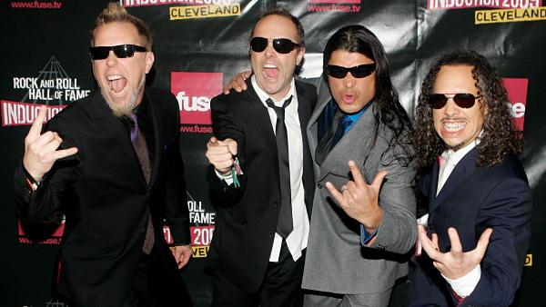 Metallica enters Rock and Roll Hall of Fame
