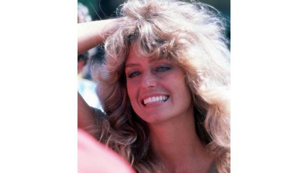 Actress Farrah Fawcett