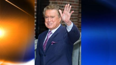 FILE - In this June 11, 2009 file photo, talk show host Regis Philbin arrives for a taping of The Late Show with David Letterman in New York. (AP Photo/Charles Sykes, file)