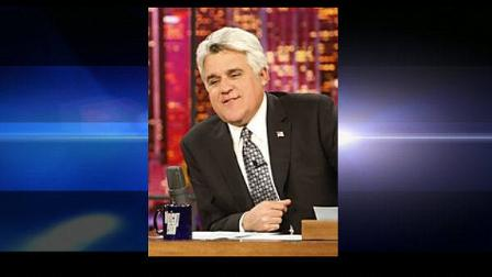 FILE - In this March 19, 2009 file photo, host Jay Leno is shown on The Tonight Show with Jay Leno in Burbank, Calif. (AP Photo/Gerald Herbert, file) (AP)