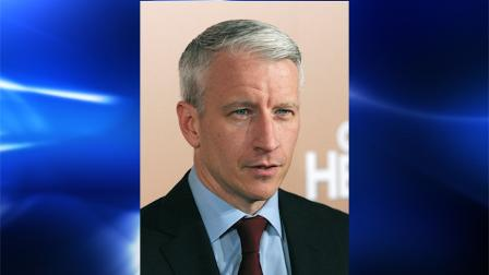 FILE - In this Dec. 6, 2007 file photo, CNN anchor Anderson Cooper arrives at the CNN Heroes Awards in New York. An interior designer is suing Cooper after she took an unusual fall at an old New York City firehouse that he is converting into a new home. Killian OBrien, of Brooklyn, says in her suit that she plunged 17 feet through the hole that once held the stations fire pole. The pole had been removed, but the hole was uncovered. (AP Photo/Peter Kramer, File)