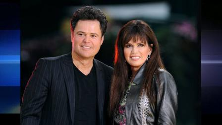 Singers Donny and Marie Osmond make an appearance in Bryant Park on ABCs Good Morning America show on Friday, Aug. 15, 2008, in New York. (AP Photo/Peter Kramer)