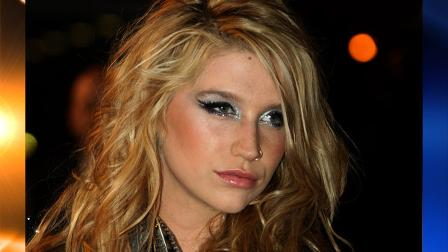 American singer Kesha arrives at the Cannes festival palace, to take part in the NRJ Music awards ceremony, Saturday, Jan. 23, 2010, in Cannes, southeastern France. (AP Photo/Lionel Cironneau)