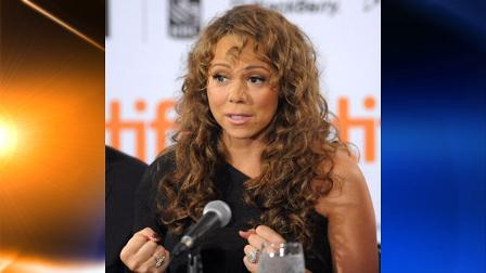 n this Sept. 13, 2009 photo, singer-actress Mariah Carey participates in news conference for the film Precious during the Toronto International Film Festival in Toronto. Veterinarian Cindy Bressler sued Carey on Wednesday, June 23, 2010, in New York, claiming that Grammy Award-winning singer owes her almost $30 thousand in veterinary medical fees. (AP Photo/Evan Agostini)
