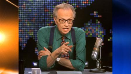 *** FILE *** In an image provided by CNN, talk show host Larry King is shown on the set of his program Larry King Live at the CNN studios in Los Angeles, Thursday, March 17, 2005. King, who interviewed statesmen and stars from a prime-time perch at CNN for 25 years but has faded in ratings and influence lately, said Tuesday June 29, 2010 that he will step down this fall from his nightly show. (AP Photo/CNN, Rose M. Prouser, File)