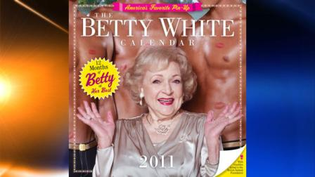 In this publicity image released by Workman Publishing, actress Betty White is shown on the cover of The Betty White Calender 2011, which will be available for $12.99 in September. (AP Photo/Workman Publishing)
