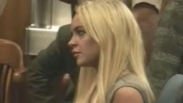 Lindsay Lohan reports for jail