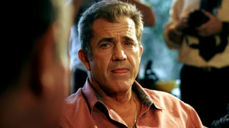 US actor Mel Gibson listens to Costa Ricas President Oscar Arias, unseen, at Arias home in San Jose, Monday, July 9, 2007. Gibson met with Arias to discuss possible humanitarian projects in Costa Rica.(AP Photo/Kent Gilbert)