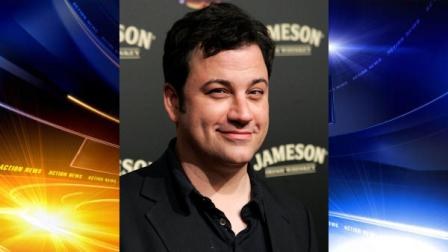 Jimmy Kimmel poses on the press line at the Jimmy Kimmel Show 1000th Episode Party on Thursday, April 3, 2008. (AP Photo/Dan Steinberg)