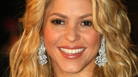Colombian singer, songwriter, musician, Shakira arrives at the Cannes festival palace, to take part in the NRJ Music awards ceremony, Saturday, Jan. 22, 2011, in Cannes, southeastern France. (AP Photo/Lionel Cironneau)