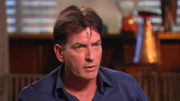 charlie sheen, good morning america, entertainment