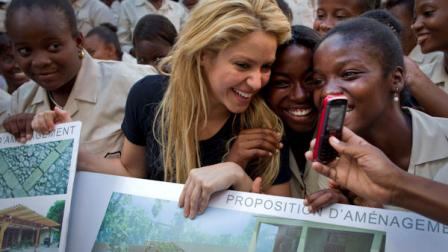The Inter-American Development Bank and Shakira's Barefoot (Pies Descalzos) Foundation today announced they will support the Haitian government's efforts