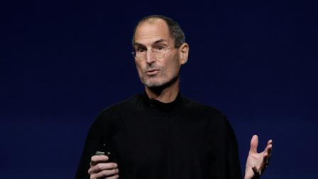 Apple Inc. Chairman and CEO Steve Jobs speaks at an Apple event at the Yerba Buena Center for the Arts Theater in San Francisco, Wednesday, March 2, 2011. (AP Photo/Jeff Chiu)