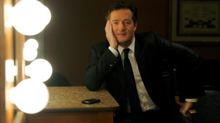 Piers Morgan, host of CNNs interview show Piers Morgan Tonight, poses for a portrait backstage during the Turner Broadcasting Television Critics Association winter press tour in Pasadena, Calif., Thursday, Jan. 6, 2011. (AP Photo/Chris Pizzello)