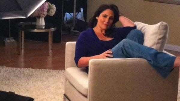 'Photo shoot for new talk show, people! ;)' Ricki Lake Tweeted alongside this photo on May 20, 2011.
