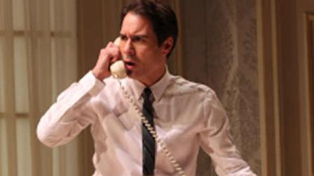 In this undated theater image released by Jeffrey Richards and Associates, Eric McCormack is shown in a scene from the Broadway revival of Gore Vidals The Best Man, in New York. (AP Photo/Jeffrey Richards and Associates, Joan Marcus)