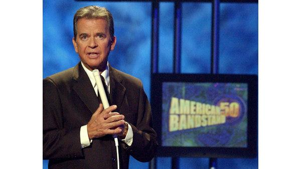 'Bandstand' announcer honors Dick Clark