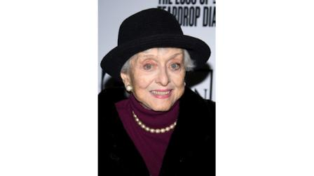 Celeste Holm attends the premiere of The Loss of a Teardrop Diamond in New York, Thursday, Dec. 10, 2009.Holm died on Sunday, July 15, 2012 at age 95, a relative told the AP. (AP Photo/Charles Sykes)
