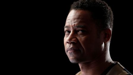 Actor Cuba Gooding Jr. poses for a portrait during the Red Tails junket Tuesday, Jan. 10, 2012 in New York. (AP Photo/Carlo Allegri)