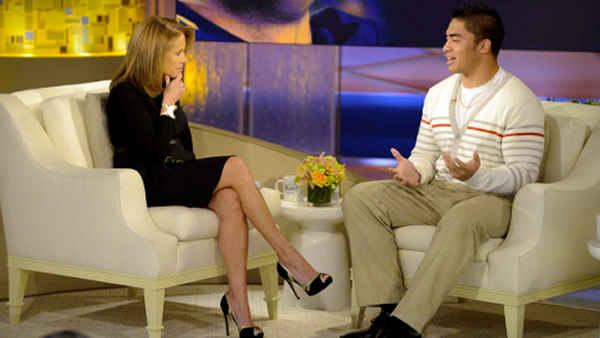 Manti Teo interviewed by Katie Couric - 6at4