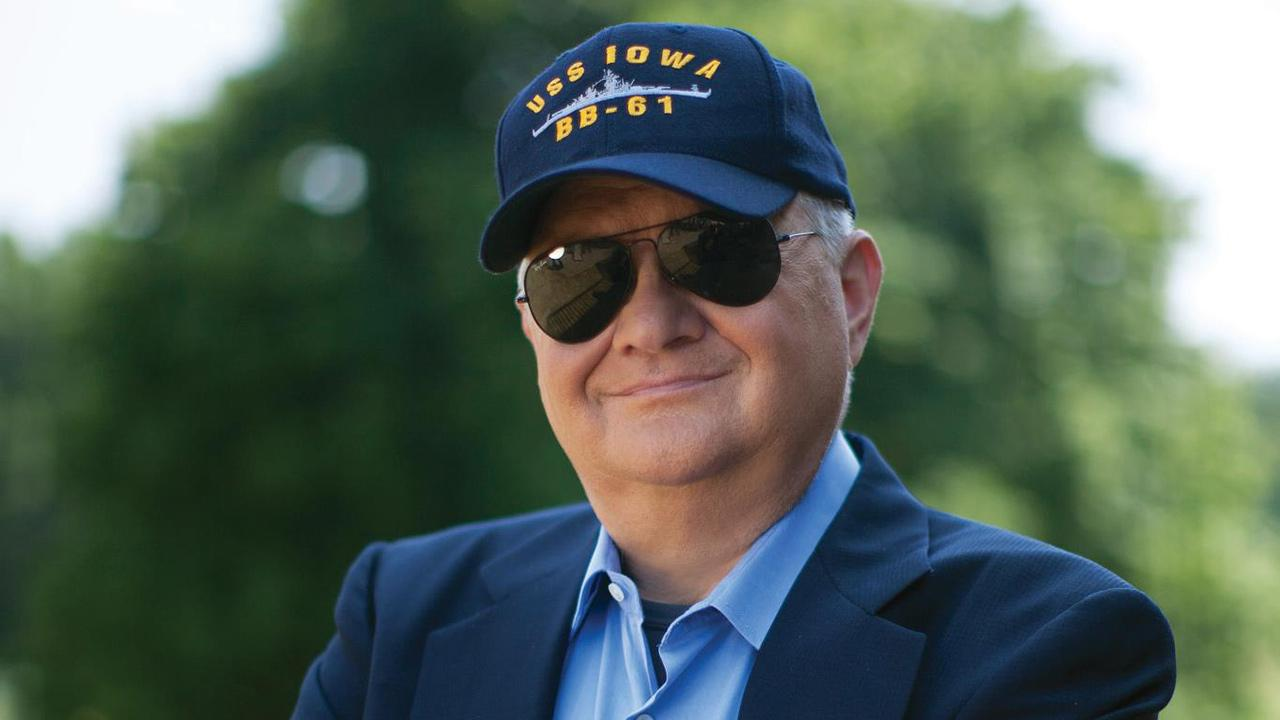 Tom Clancy appears in an undated publicity photo.