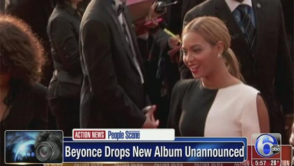 Beyonce quietly releases new album overnight