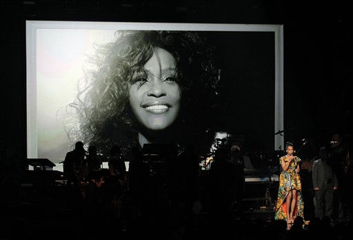 Monica performs during the in memoriam for Whitney Houston at the BET Awards on Sunday, July 1, 2012, in Los Angeles <span class=meta>(AP Photo)</span>