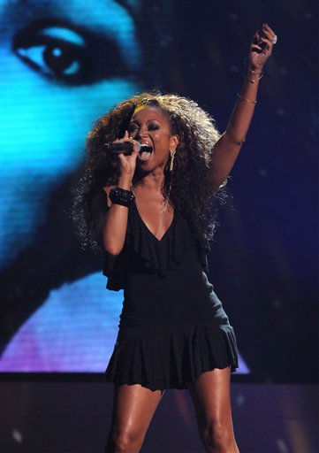 Chante Moore performs during the in memoriam for Donna Summer at the BET Awards on Sunday, July 1, 2012, in Los Angeles <span class=meta>(AP Photo)</span>