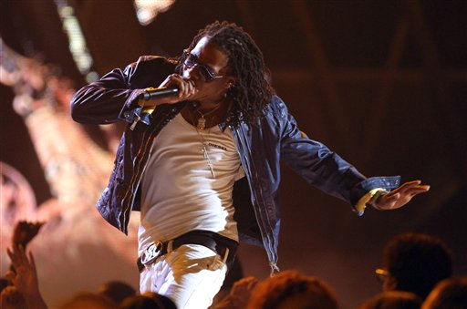 Cash Out performs at the BET Awards on Sunday, July 1, 2012, in Los Angeles <span class=meta>(AP photo)</span>