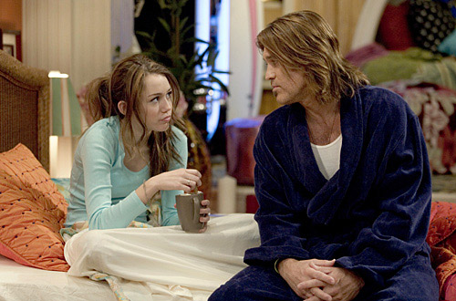 Billy Ray and Leticia &#39;Tish&#39; Cyrus filed for divorce in October 2010, citing irreconcilable differences.  Pictured: Billy Ray Cyrus and his daughter, Miley Cyrus in a scene from &#39;Hannah Montana.&#39; <span class=meta>(Photo courtesy of Disney Channel)</span>