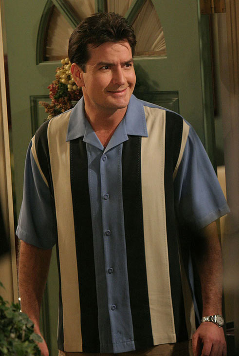 Charlie Sheen filed for divorce on November 1, 2010 from his third wife Brooke Mueller, the mother of their twin 1-year-old boys, after two years of marriage.  <span class=meta>(Photo courtesy of Warner Bros. Television)</span>