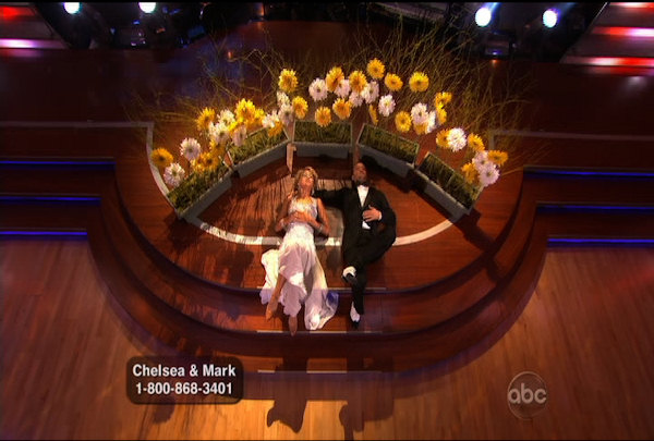 "<div class=""meta image-caption""><div class=""origin-logo origin-image ""><span></span></div><span class=""caption-text"">Chelsea Kane & Mark Ballas danced the Foxtrot during Week 1 of Season 12 of Dancing with the Stars. They received a score of 21.</span></div>"