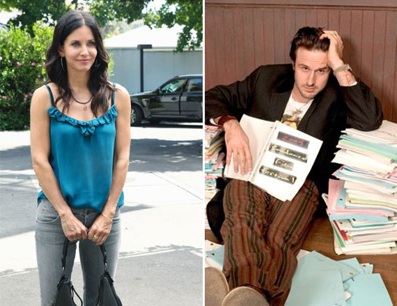 'Cougar Town' star Courtney Cox and David...