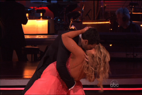 Kirstie Alley & Maksim Chmerkovskiy danced the Cha-Cha-Cha during Week 1 of Season 12 of Dancing with the Stars. They received a score of 23.