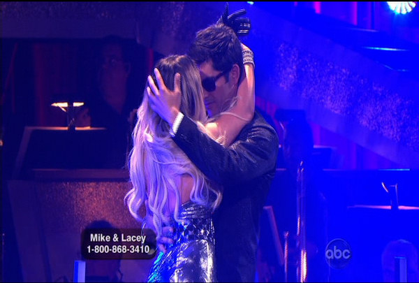 "<div class=""meta image-caption""><div class=""origin-logo origin-image ""><span></span></div><span class=""caption-text"">Mike Catherwood & Lacey Schwimmer danced the Foxtrot during Week 1 of Season 12 of Dancing with the Stars. They received a score of 13.</span></div>"