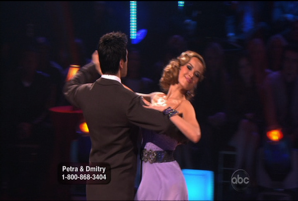 "<div class=""meta image-caption""><div class=""origin-logo origin-image ""><span></span></div><span class=""caption-text"">Petra Nemcova & Dmitry Chaplin danced the Foxtrot during Week 1 of Season 12 of Dancing with the Stars. They received a score of 18.</span></div>"
