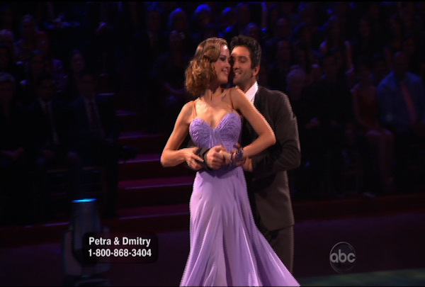Petra Nemcova & Dmitry Chaplin danced the Foxtrot during Week 1 of Season 12 of Dancing with the Stars. They received a score of 18.