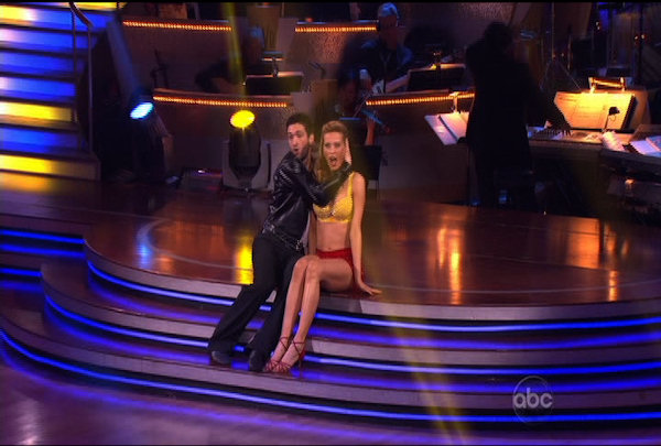 Petra Nemcova & Dmitry Chaplin danced the Jive during Week 2 of Season 12 of Dancing with the Stars. They received a score of 18.