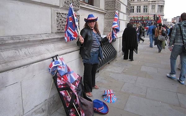 Candid shots from the Action News crew covering the Royal Wedding in London.