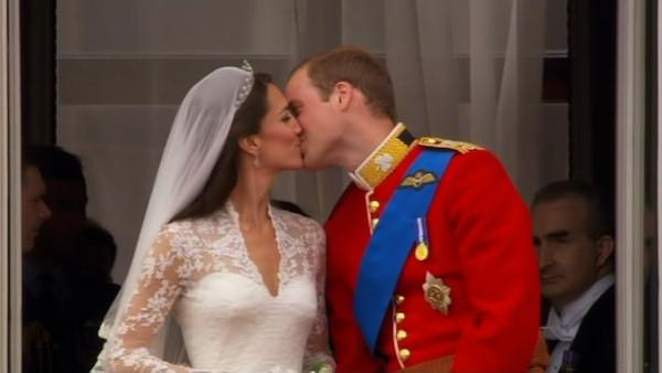 Photos from the wedding of Prince William and Kate Middleton