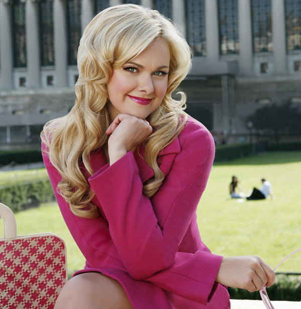 This undated picture provided by Barlow Hartman Public Relations shows actress Laura Bell Bundy. Bundy will star as Elle Woods in the musical version of &#34;Legally Blonde,&#34; opening April 29, 2006 at Broadway&#39;s Palace Theatre. <span class=meta>(AP Photo)</span>