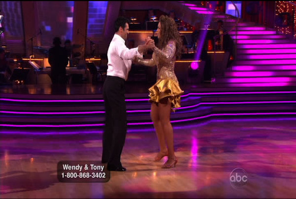 "<div class=""meta image-caption""><div class=""origin-logo origin-image ""><span></span></div><span class=""caption-text"">Wendy Williams & Tony Dovolani danced the Cha-Cha-Cha during Week 1 of Season 12 of Dancing with the Stars. They received a score of 14.</span></div>"