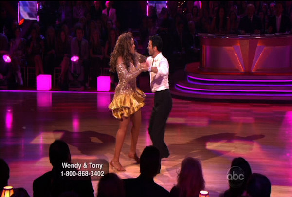 "<div class=""meta ""><span class=""caption-text "">Wendy Williams & Tony Dovolani danced the Cha-Cha-Cha during Week 1 of Season 12 of Dancing with the Stars. They received a score of 14.</span></div>"