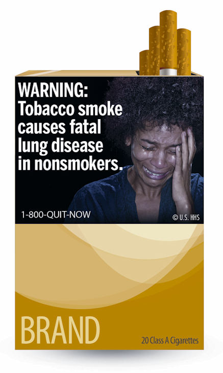 In the most significant change to U.S. cigarette packs in 25 years, the Food and Drug Administration on Tuesday released nine new warning labels that depict in graphic detail the negative health effects of tobacco use.  <span class=meta>(FDA)</span>