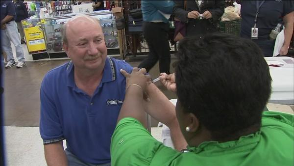 Flu shots protect the heart